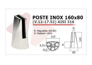 poste inox