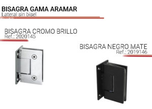 bisagras gama aramar