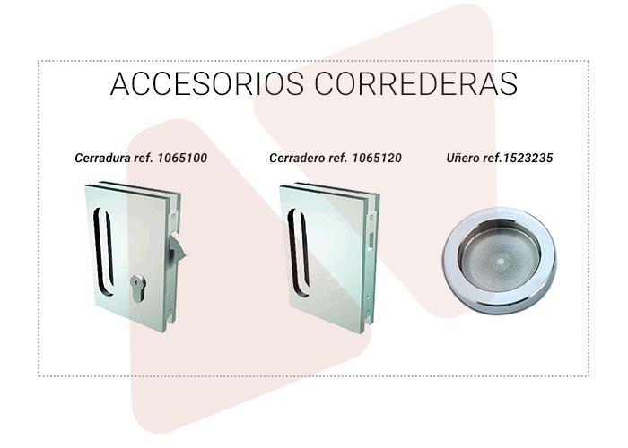 Accesorios para puertas correderas Aramar