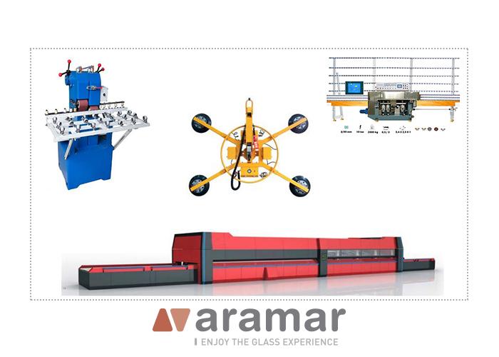 Fournitures pour machines à verre Aramar Glass