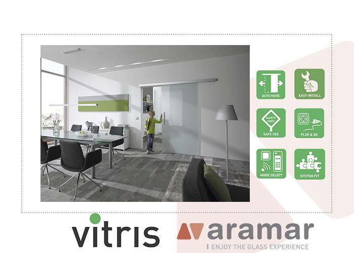 Sistema corredera automática de Vitris, distribuido por Aramar