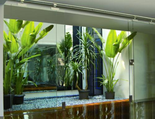 Tipos de puertas correderas de vidrio disponibles en Aramar