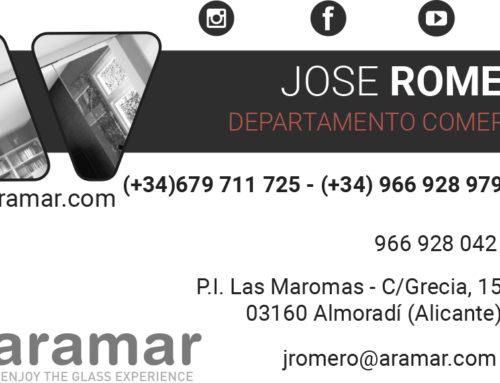 Nuevo comercial de Aramar en Valencia y Castellón