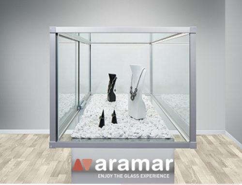 Vitrinas de vidrio – Descúbrelas en Aramar Suministros para el Vidrio