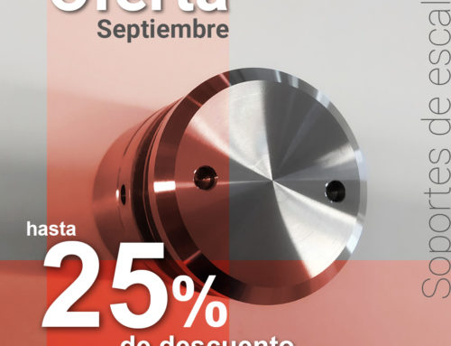 Oferta hasta 25% en Soportes de Escaleras para Vidrio