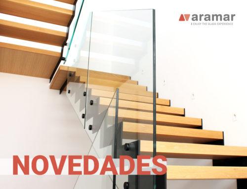 Novedades en Herrajes para el Vidrio Aramar