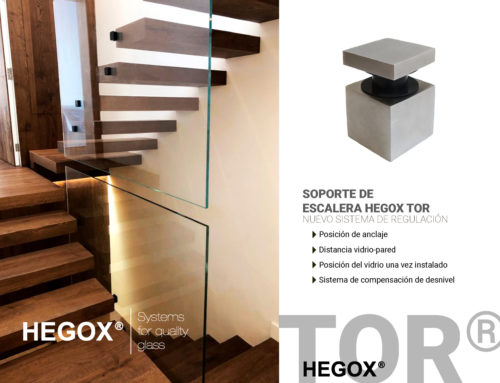 Nuevo Soporte de Escalera Hegox Tor
