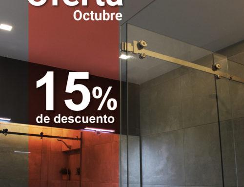 Oferta 15% en Kit de Mampara para Baño Mar de Plata