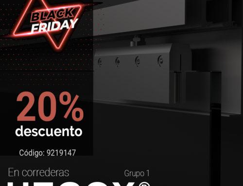 Black Friday 20% >> Puertas Correderas Hegox